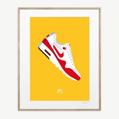 LE DUO 80 AIR Poster in Yellow