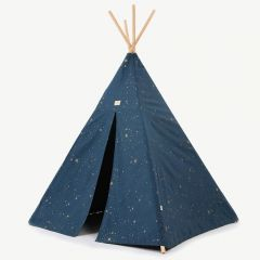 Phoenix Teepee in Gold Stella & Night Blue