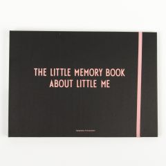 """The Little Memory Book About Little Me"" in Pink"