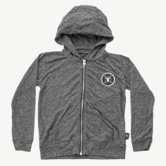 Solid Hoodie in Charcoal
