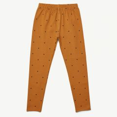 Marie Leggings Classic Dot in Mustard