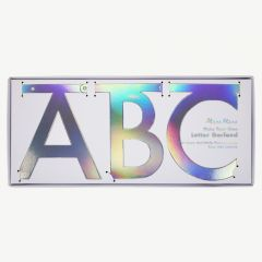 Garland Kit Holographic Letters in Silver