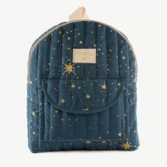 Too Cool - Gold Stella Kid Backpack in Blue