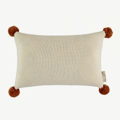 SO NATURAL KNITTED CUSHION
