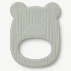 Gemma Teether Mr Bear in Dusty Mint