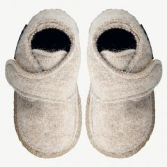 "White ""Leila"" Slippers"
