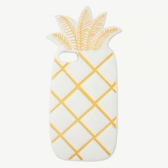 Pineapple Soft Silicone iPhone Case