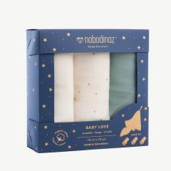Baby Love Swaddles Box (Pack of 3)