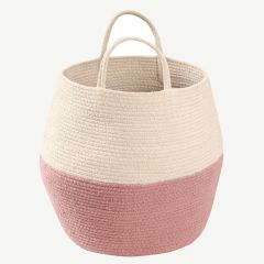 Basket Zoco in Ash Rose&Natural