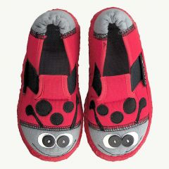 LADYBUG - Slippers in red