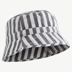 Jack Bucket Hat in Navy/Creme de la crème