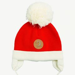 Penguin Baby Hat Red