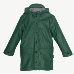 Lazy Geese Raincoat in Hunter Green