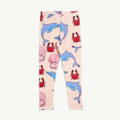 Dolphin Leggings in Rosa