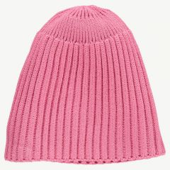 Ribbed Hat in Pink