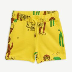 """Cool Monkey"" Shorts in Gelb"