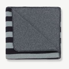 Innsbruck Blanket in Light/ Dark Blue