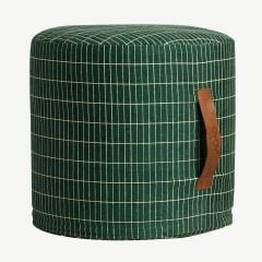 """Sit On Me Pouf"" in Green"