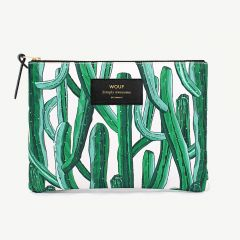 Wild Cactus Large Pouch