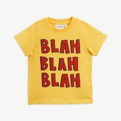 Blah T-Shirt in Gelb