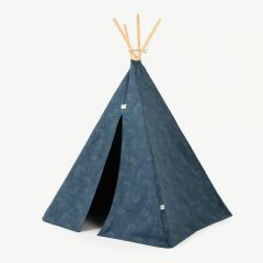 Phoenix Teepee in Gold Bubble & Night Blue