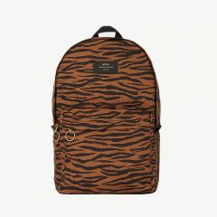 Tiger Foldable Backpack in Brown