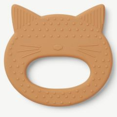 Gemma Teether Cat in Mustard