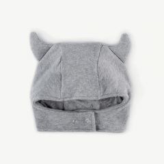 Viking Snap Hat in Heather Grey