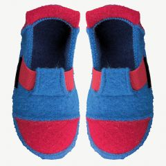 "Blue ""Berg"" Slippers"