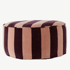 """Confect"" Pouf in Grape"