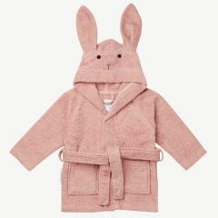 Lily Bademantel Hase in Pink