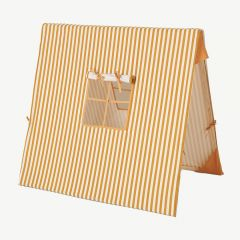 Mustard Thin Striped Tent in Mustard