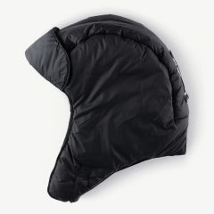 Puffy Aviator Hat in Black