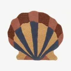 Shell Tufted Wall Decoration