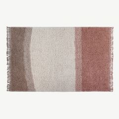 Woolable Waschbarer Woll-Teppich Sounds of Summer in Nude