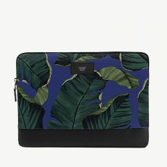 """Blue Leaves"" 13"" Laptoptasche mit Blätter-Print"
