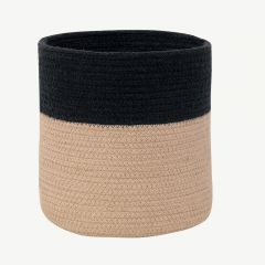 Basket Dual Black - Linen