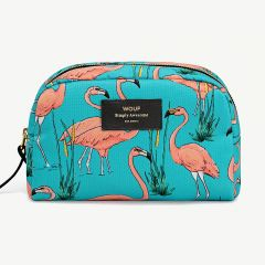 Pink Flamingos Beauty Bag