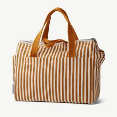 Melvin Mommy Bag in Mustard/Creme de la creme