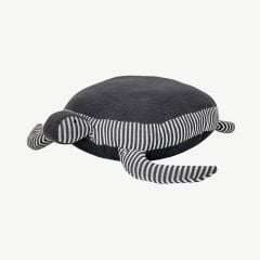 Cotton Pouf in Grey