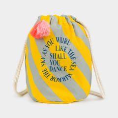 Shall you Dance Lunchtasche in Mint/ Gelb