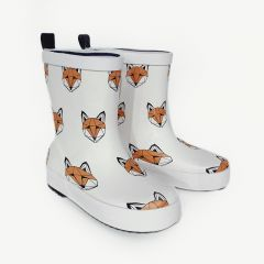 Just Call Me Fox Gummistiefel in Weiß