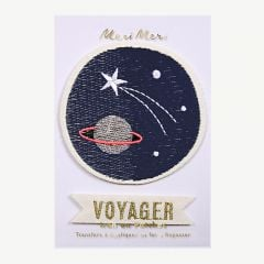 """Space Voyager"" Iron-on Patches"