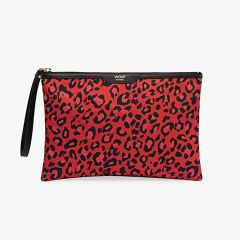 Red Leopard Night Clutch
