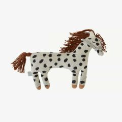 Darling Kissen - Little Pelle Pony in Offwhite/ Schwarz