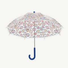 Kids Printed Bubble Umbrella with Clear Rock Print