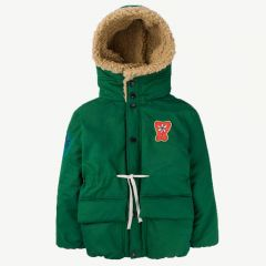 """Calf"" Winter Jacket in Green"
