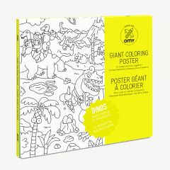 """""""Dinos"""" Giant Coloring Poster"""