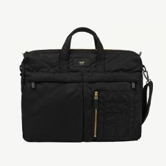 Black Bomber Bag