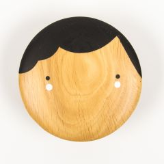 """Coco"" Round Wall Hook Made of Wood"
